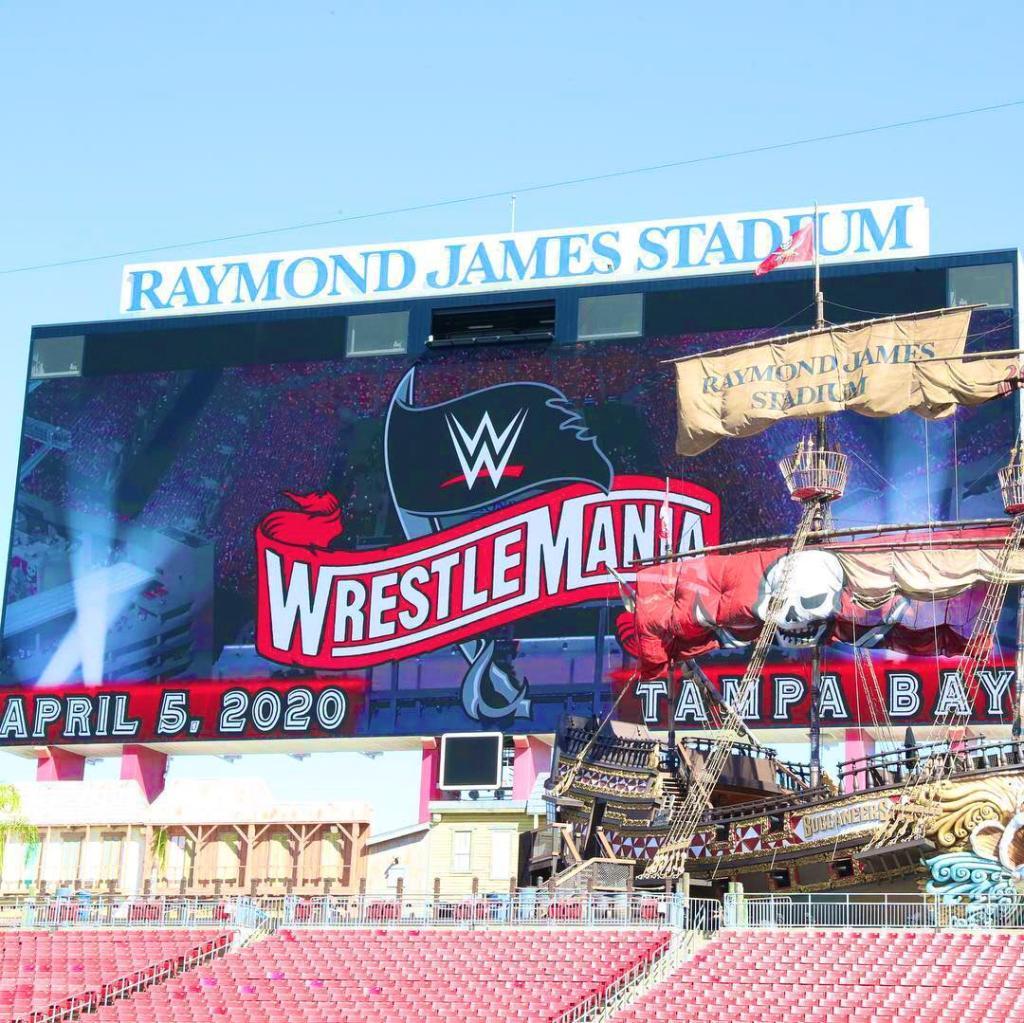Logo Wrestlemania 36