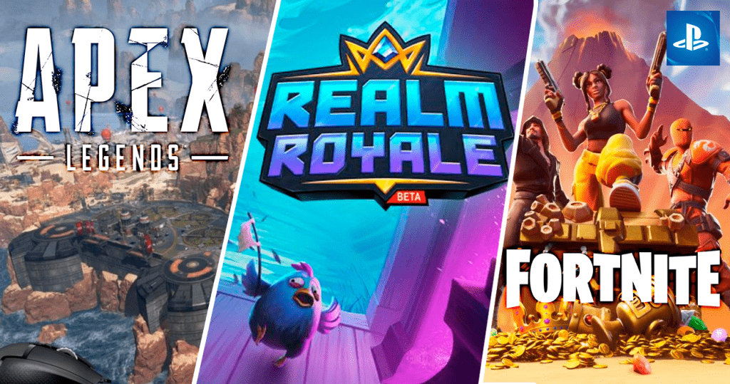 PS4 february Apex Realm Royale Fortnite