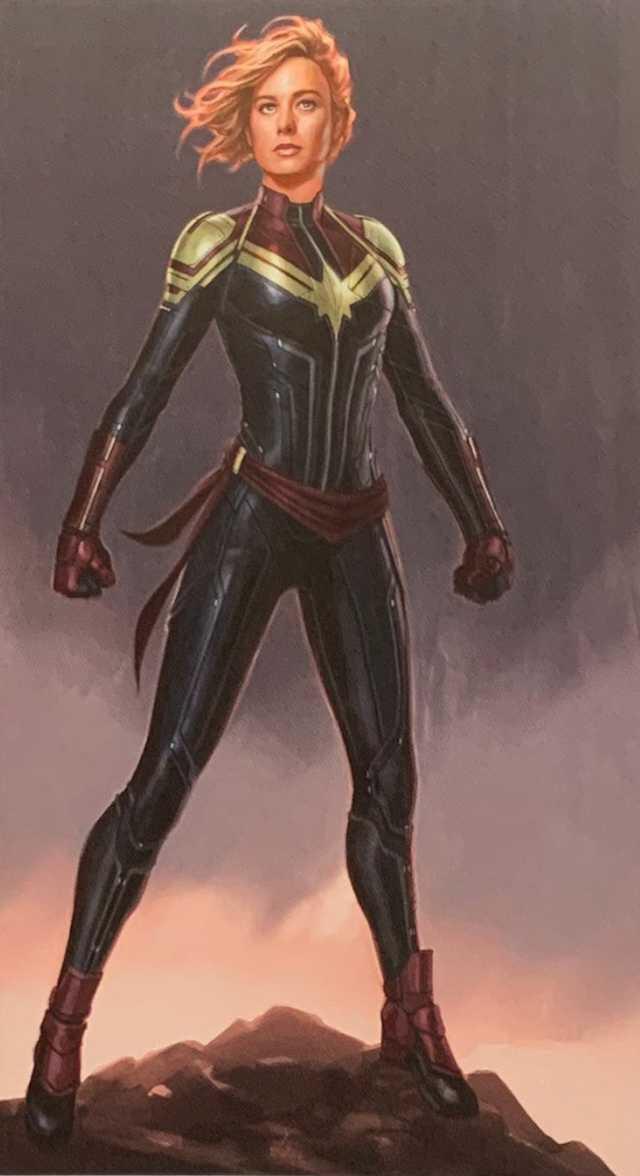 Capitana Marvel nuevo traje