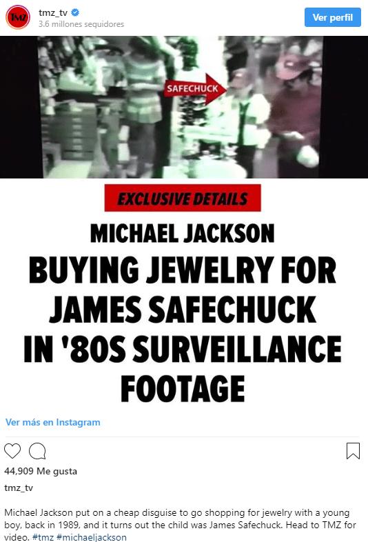 michael jackson prueba