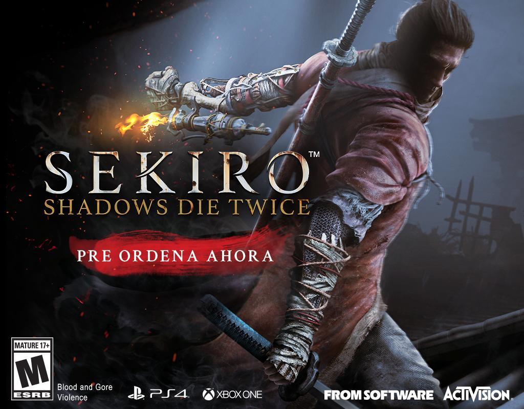 Sekiro Shadows Die Twice preventa