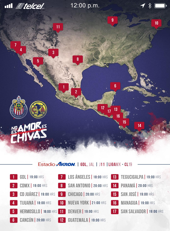 Chivas vs América EN VIVO