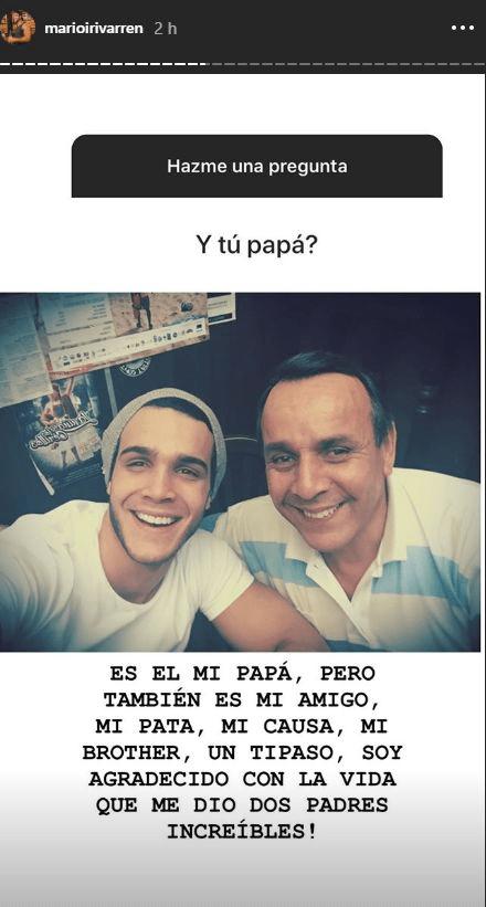 mario y papá