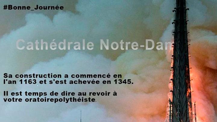 Catedral de Notre Dame ISIS
