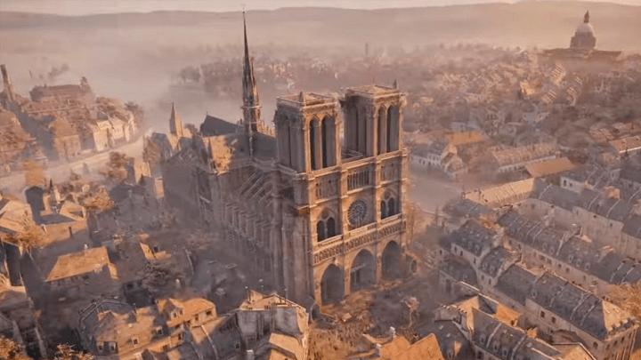 Catedral Notre Dame y Paris en Assassin's Creed Unity