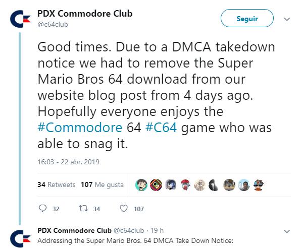 Super Mario Bros. 64 Commodore