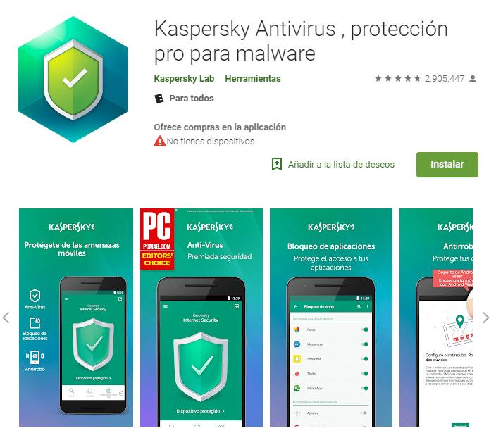Smartphone Android Antivirus