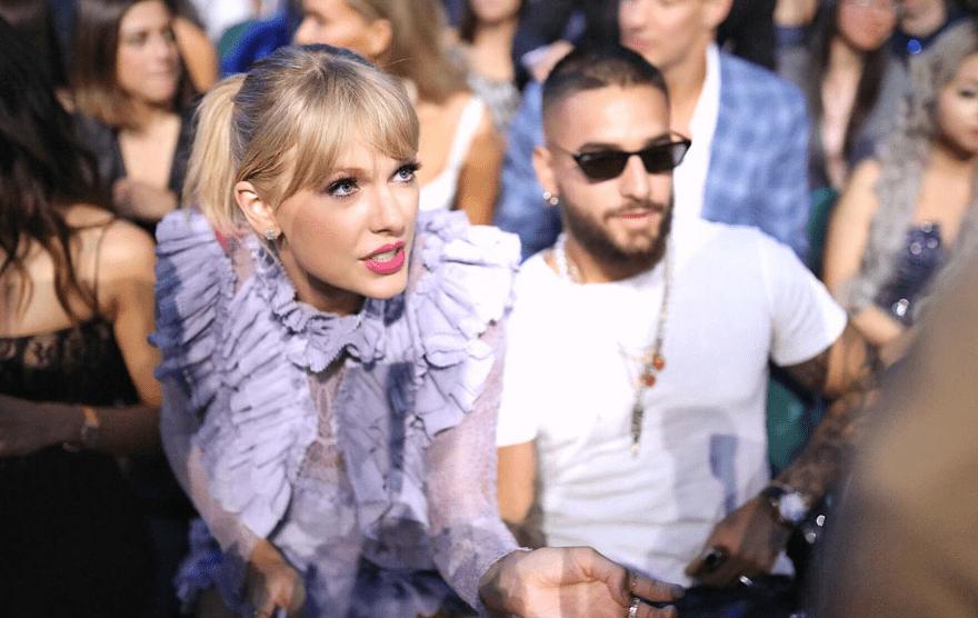 Taylor Swift y Maluma