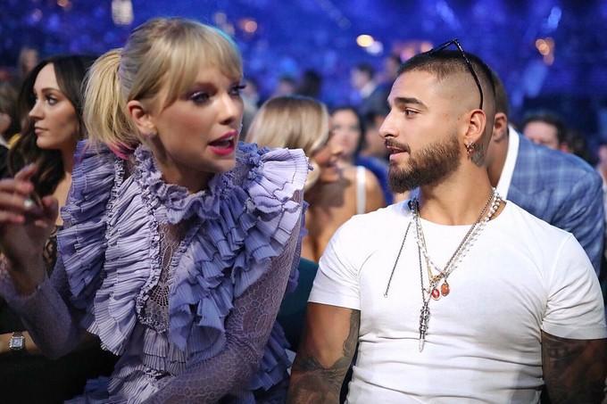 Taylor y Maluma juntos