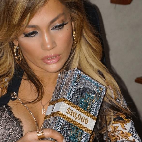 Jennifer Lopez y diner