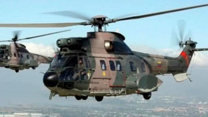 Helicóptero de Venezuela