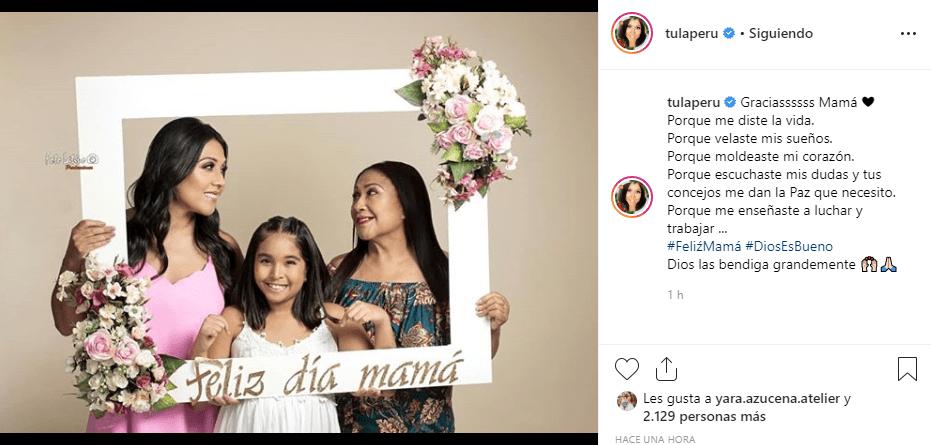 Tula Rodríguez celebra el Día de la Madre