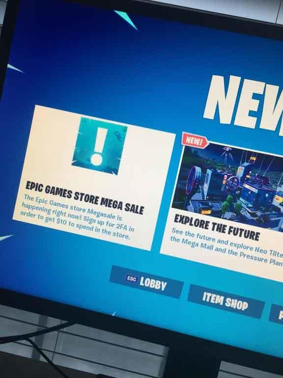 Fortnite Mega Sale Epic Games Store