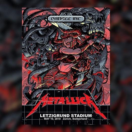 Metallica Sega Genesis Zurich