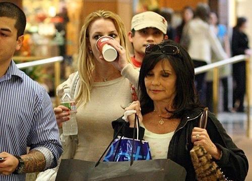 Britney Spears y su madre
