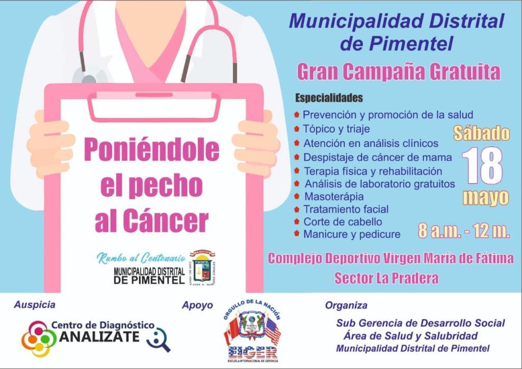 Campaña de Salud - Pimentel