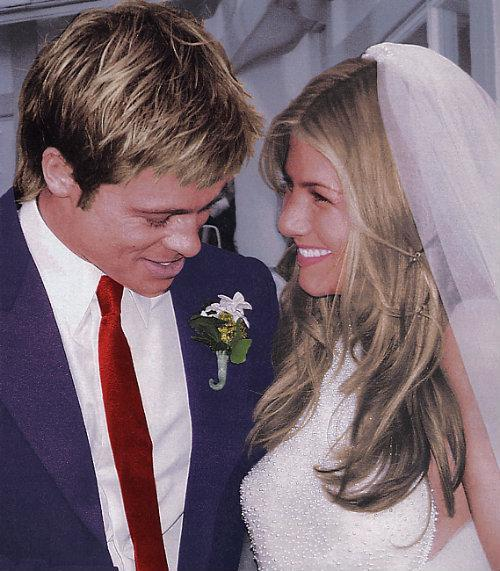 Brad Pitt y Jennifer Aniston boda