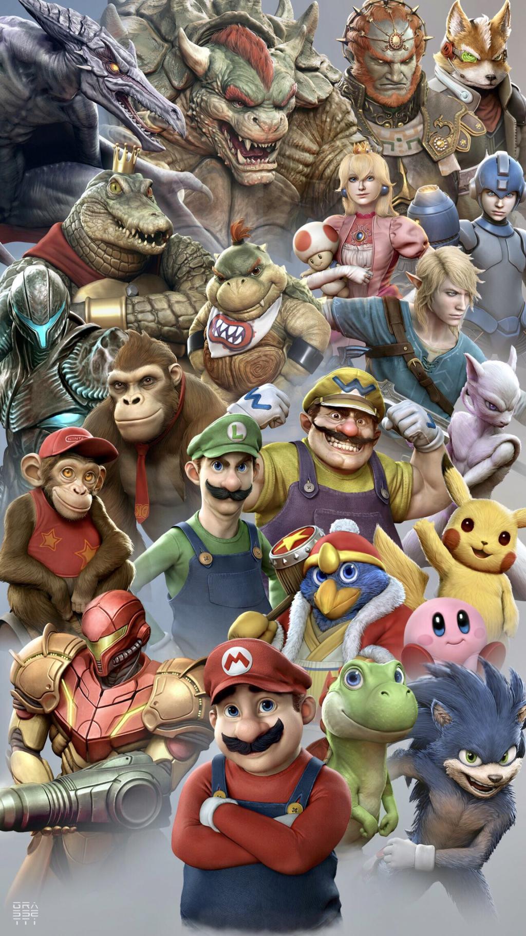 Raf Grassetti Super Smash Bros