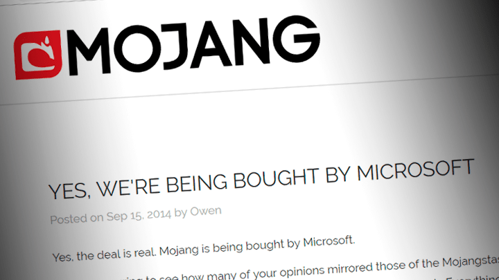Mojang comprado por Microsoft