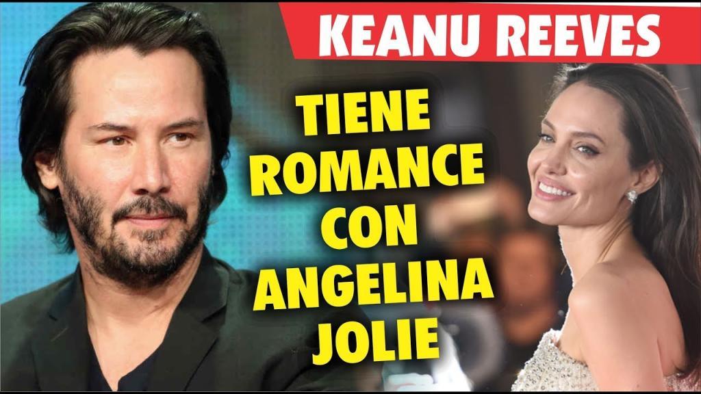 Angelina Jolie y Keanu Reeves