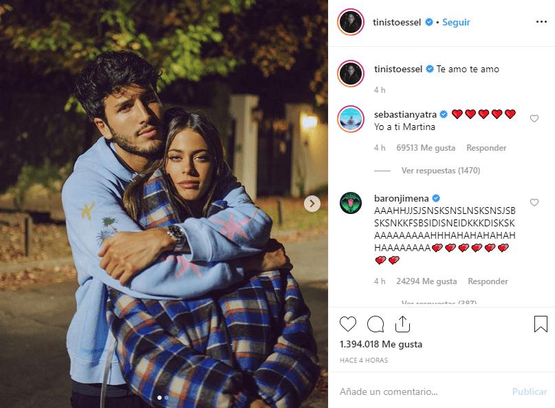 Instagram: Sebastián Yatra