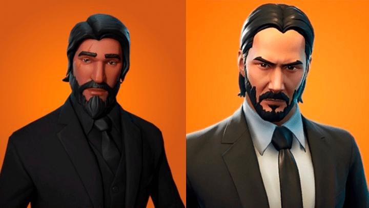 The Reaper y John Wick Fortnite