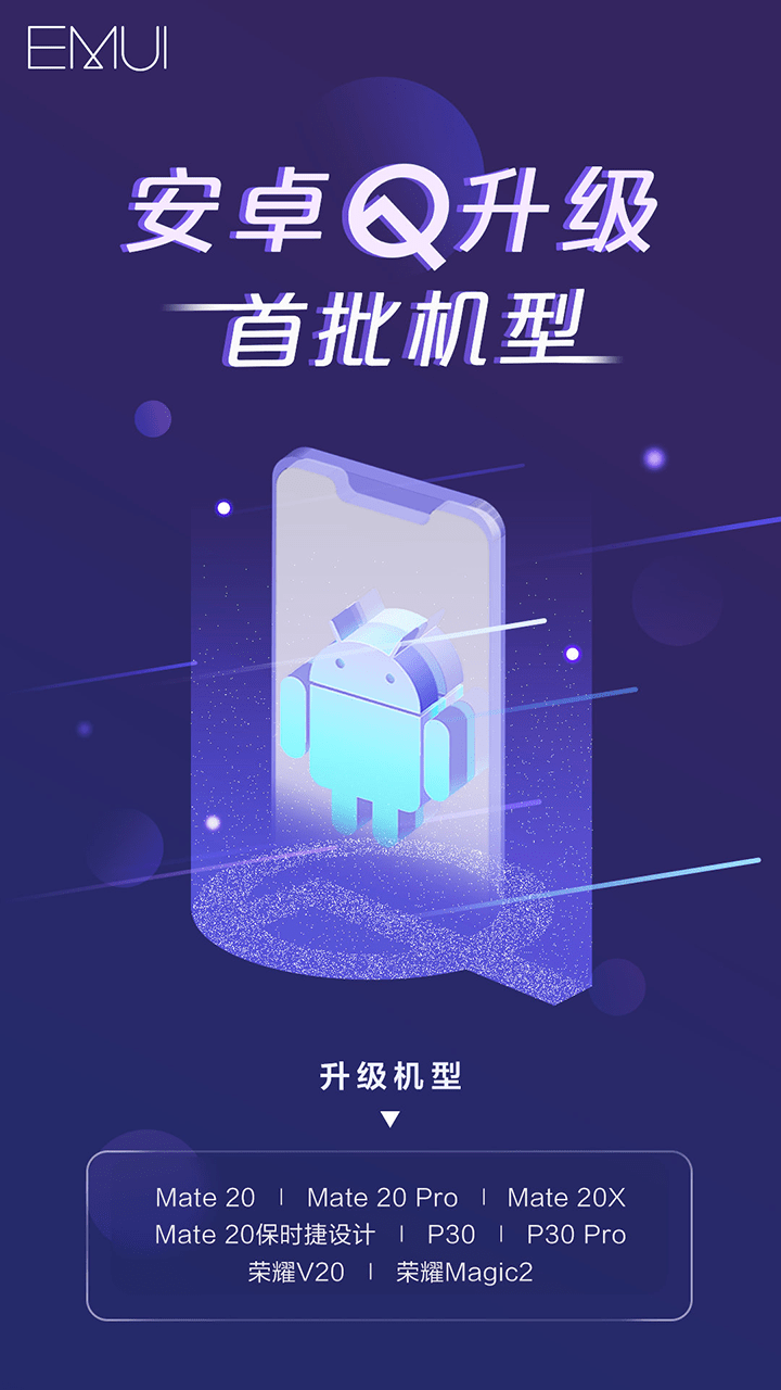 Huawei EMUI 10 Android Q